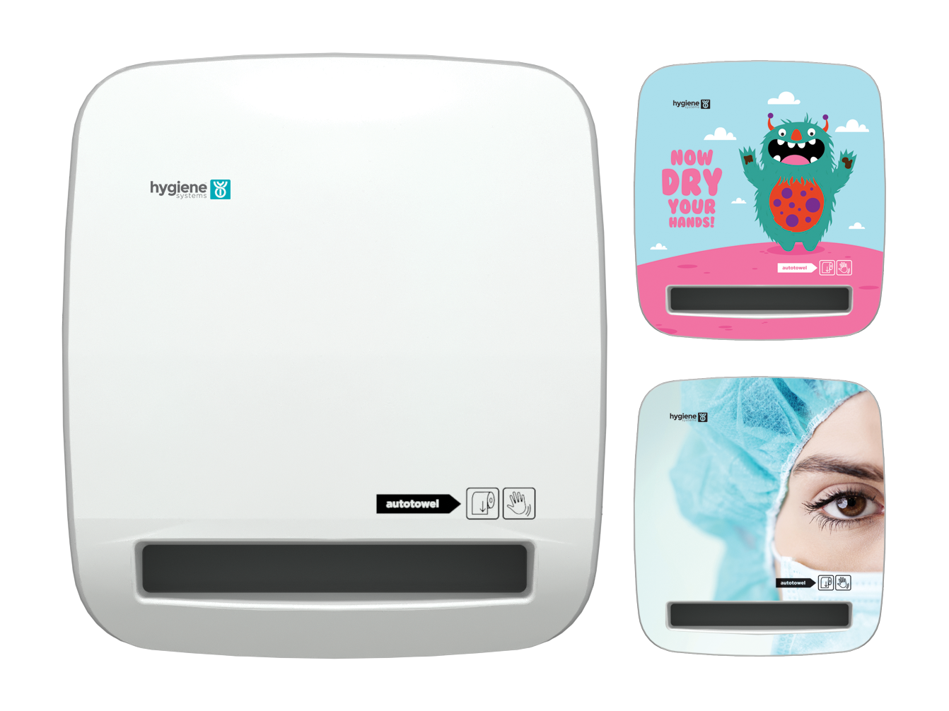 Autotowel Face On No Paper – with faceplate options